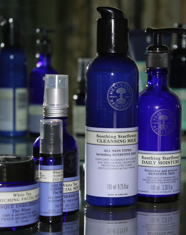 Aromatherapy facial products